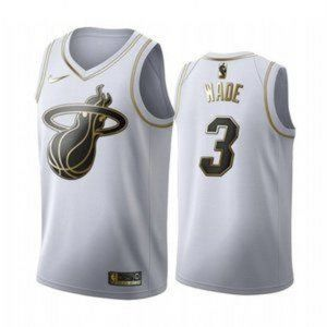 Nike Authentic Men's Miami Heat Dwyane Wade Jersey